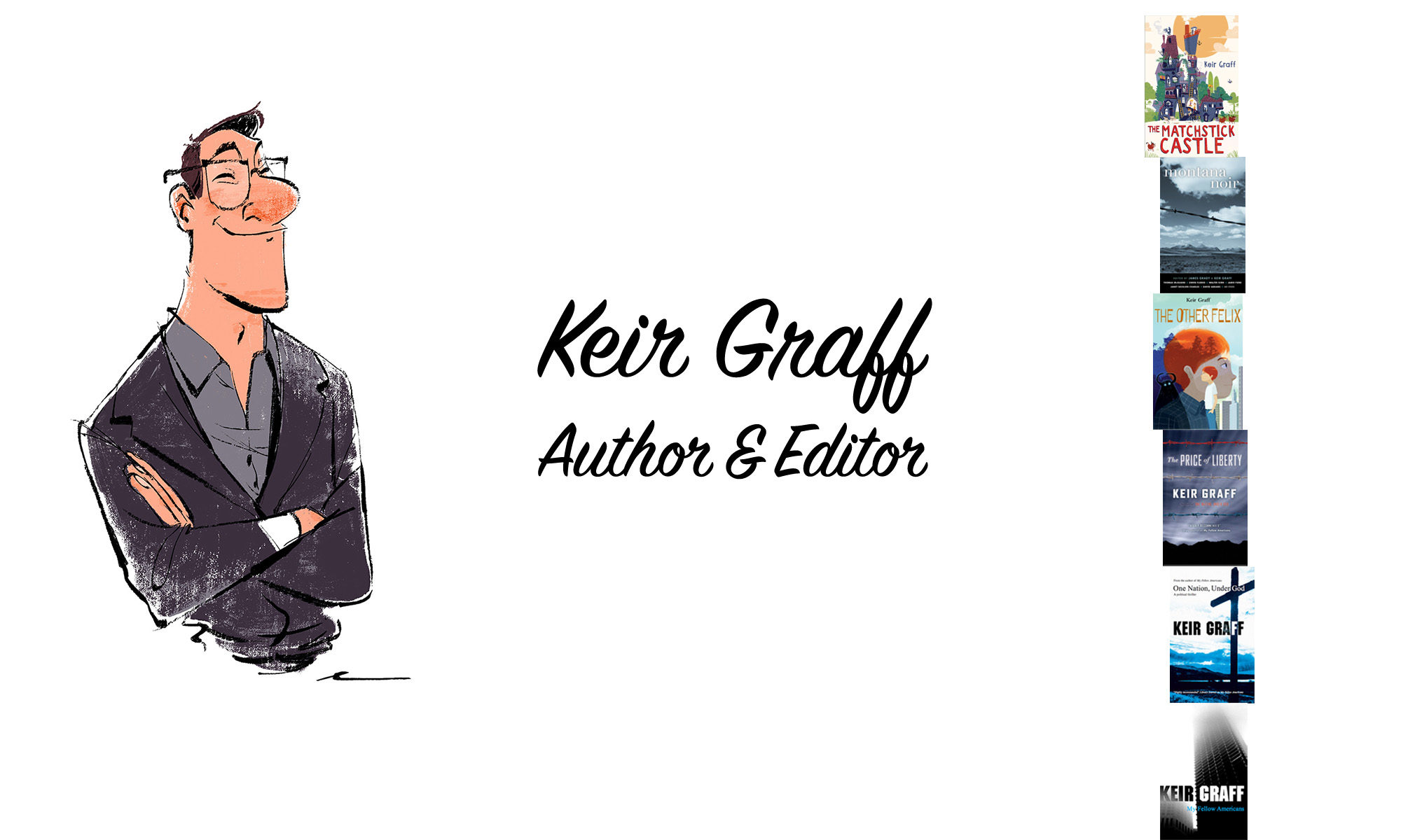 Keir Graff Author Website